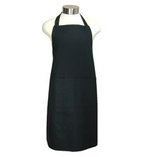 "<strong>MU Kitchen</strong> MUincotton 35"" Full Apron in Onyx"