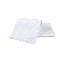 "<strong>MU Kitchen</strong> MUmodern 12"" Waffle Dishcloth in White (Set of 3)"