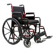 "Break Down 25"" Lightweight Wheelchair"