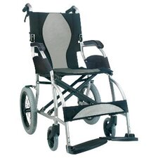 Ergolite Ultra Lightweight Transport Wheelchair