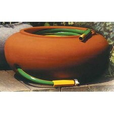 "21"" Garden Hose Pot in Terra Cotta"