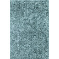 Illusions Sky Blue Shag Rug