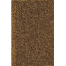 Illusions Gold Shag Rug