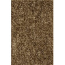 Illusions Shag Brown Area Rug