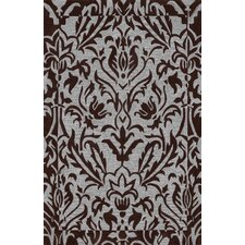 Studio Chocolate Floral Rug