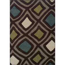 Radiance Chocolate Rug