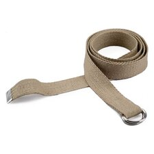 6' Professional Hemp Yoga Strap