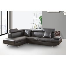 Xena Chaise 2 Piece Sectional Sofa (Set of 2)