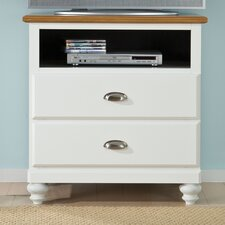 Sunset Hill 2 Drawer Media Chest