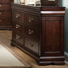 <strong>Standard Furniture</strong> Westchester 6 Drawer Standard Dresser