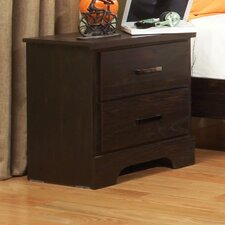 Hideout 2 Drawer Nightstand