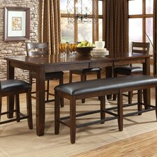 Abaco 6 Piece Counter Height Dining Set