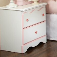 <strong>Standard Furniture</strong> Bubblegum 2 Drawer Nightstand