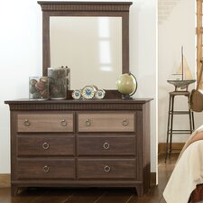 Weatherly 6 Drawer Dresser