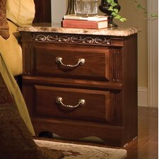 Triomphe 2 Drawer Nightstand