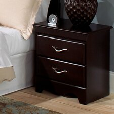 <strong>Standard Furniture</strong> Crossroads Standard 2 Drawer Nightstand