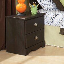Carls Standard 2 Drawer Nightstand