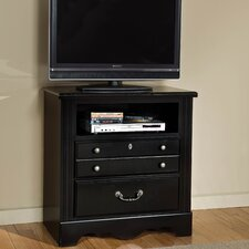 Madera with Marbella Top 3 Drawer TV Chest