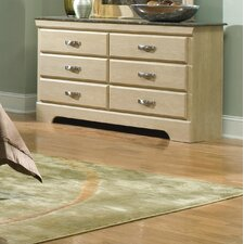 <strong>Standard Furniture</strong> Coronado 6 Drawer Dresser