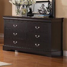 Lewiston Standard 6 Drawer Dresser