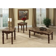 <strong>Standard Furniture</strong> Buckingham 3 Piece Coffee Table Set