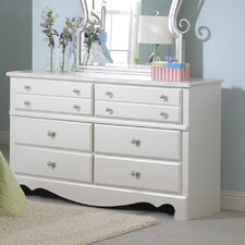 <strong>Standard Furniture</strong> Spring Rose 6-Drawer Dresser