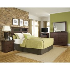 Marshall Merlot Headboard Bedroom Collection
