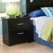 <strong>Standard Furniture</strong> Free 2 B 2 Drawer Nightstand