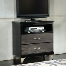 Decker 2 Drawer Media Chest
