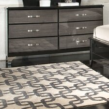 Decker 6 Drawer Standard Dresser