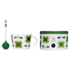 3 Piece Clover Tea Set