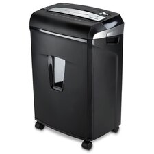 12 Sheet Cross-Cut Shredder with Pullout Basket