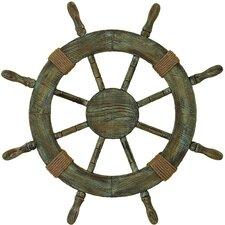 Urban Trends Nautical Ship Wheel Wall Décor