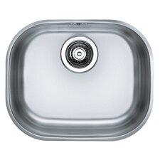 Variant 20 42 x 34cm Rectangular Kitchen Sink in Satin