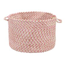 <strong>Colonial Mills</strong> Blokburst Tea Party Pink Utility Basket