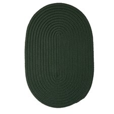 Boca Raton Dark Green Outdoor Rug