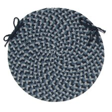 <strong>Colonial Mills</strong> Boston Common Round Braided Chair Pad