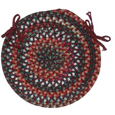 <strong>Colonial Mills</strong> Chestnut Knoll Round Braided Chair Pad