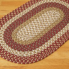 Fabric Multi Red Rug