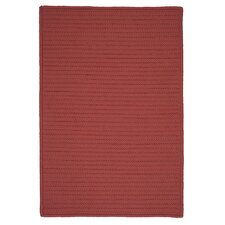 Simply Home Solid Terracotta Indoor/Outdoor Rug
