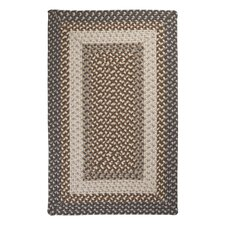 Tiburon Misted Gray Braided Area Rug