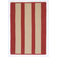 Boat House Rust Red Indoor/Outdoor Rug