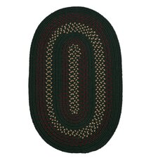 Deerfield Hunter Green Indoor/Outdoor Area Rug