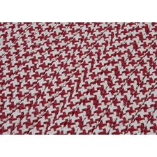 <strong>Colonial Mills</strong> Outdoor Houndstooth Tweed Sangria Sample Swatch