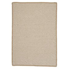 Outdoor Houndstooth Tweed Cuban Sand Rug