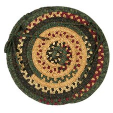 Market Mix Oval Chair Pad