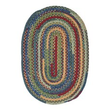 Market Mix Oval Sea Area Rug