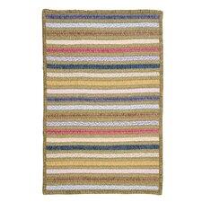 Seascape Lemongrass Striped Area Rug