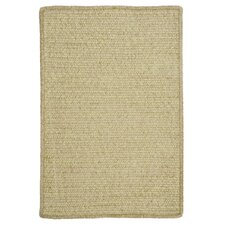 Simple Chenille Sprout Green Indoor/Outdoor Rug