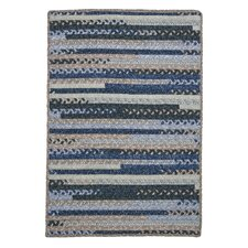 <strong>Colonial Mills</strong> Print Party Rects Blue Rug
